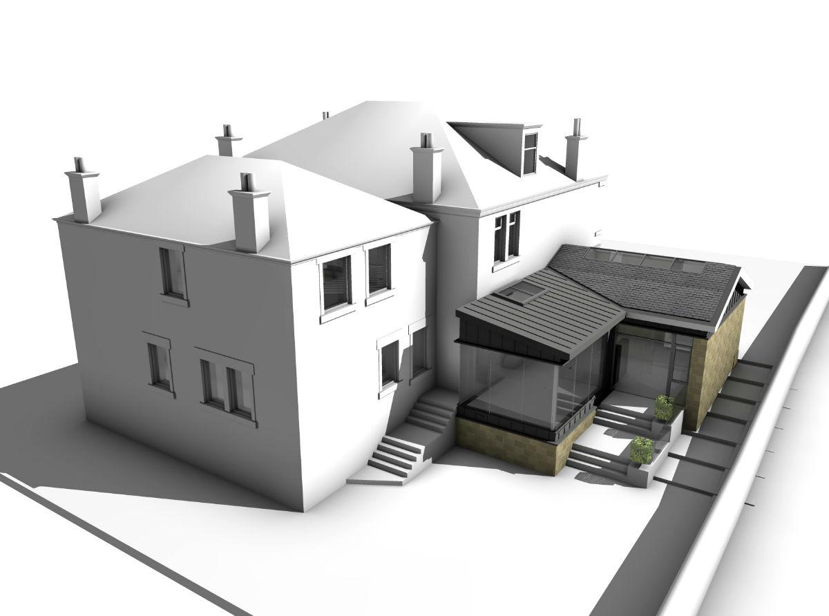 Breen House CGI2