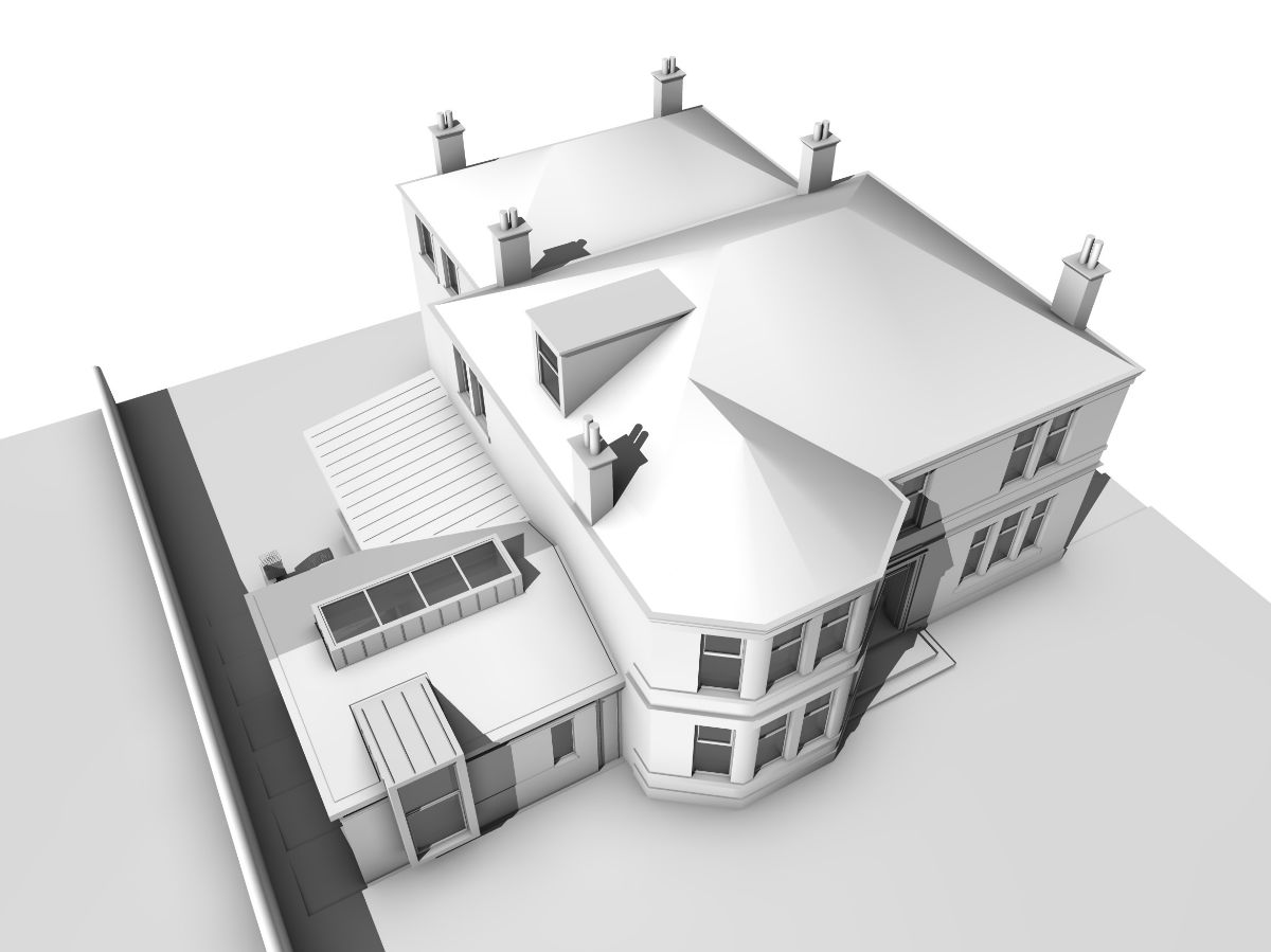 Breen House CGI3