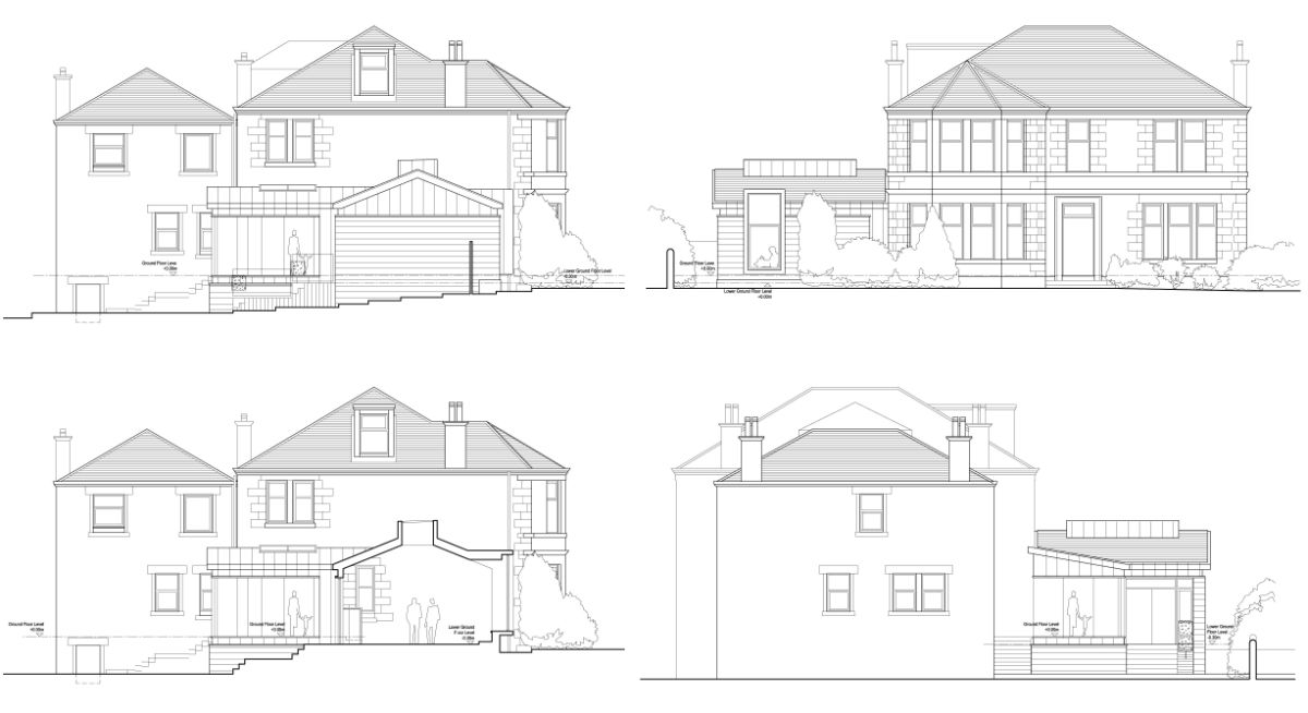 Breen House Drawings