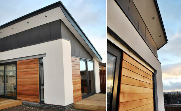 Modern house extensions design